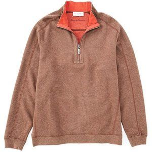 Tommy Bahama Flipsider Sweater Men XL 1/2 Zip